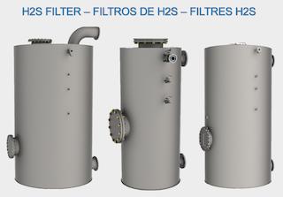 siloxanos H2s - humedad h2s - condensados h2s - filtros de biogas - purificación de biogás - limpieza de biogás - aqualimpia engineering - remoción de H2S - carbon activado H2S - oxido de hierro h2s