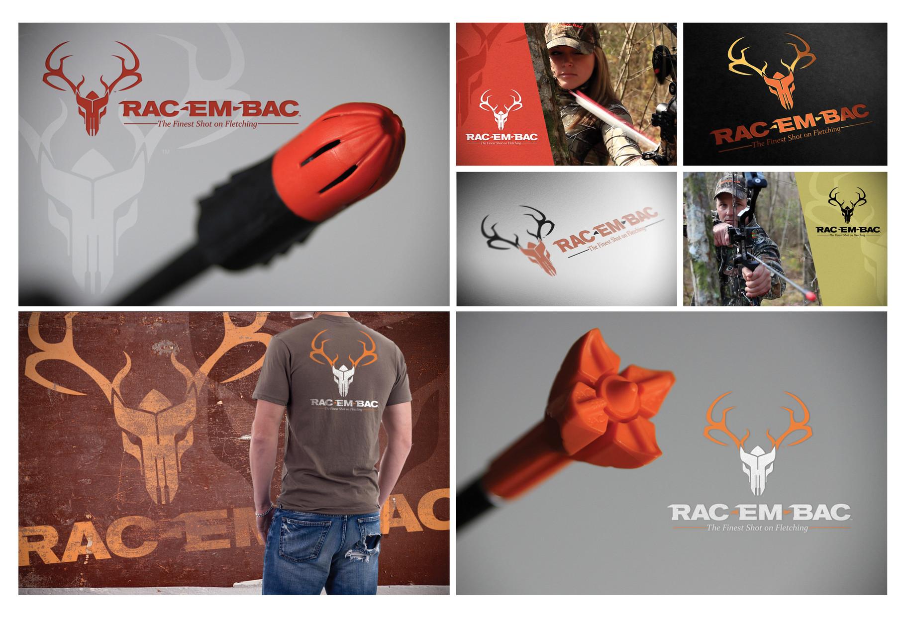 Rac-Em-Bac Logo - Silver ADDY©