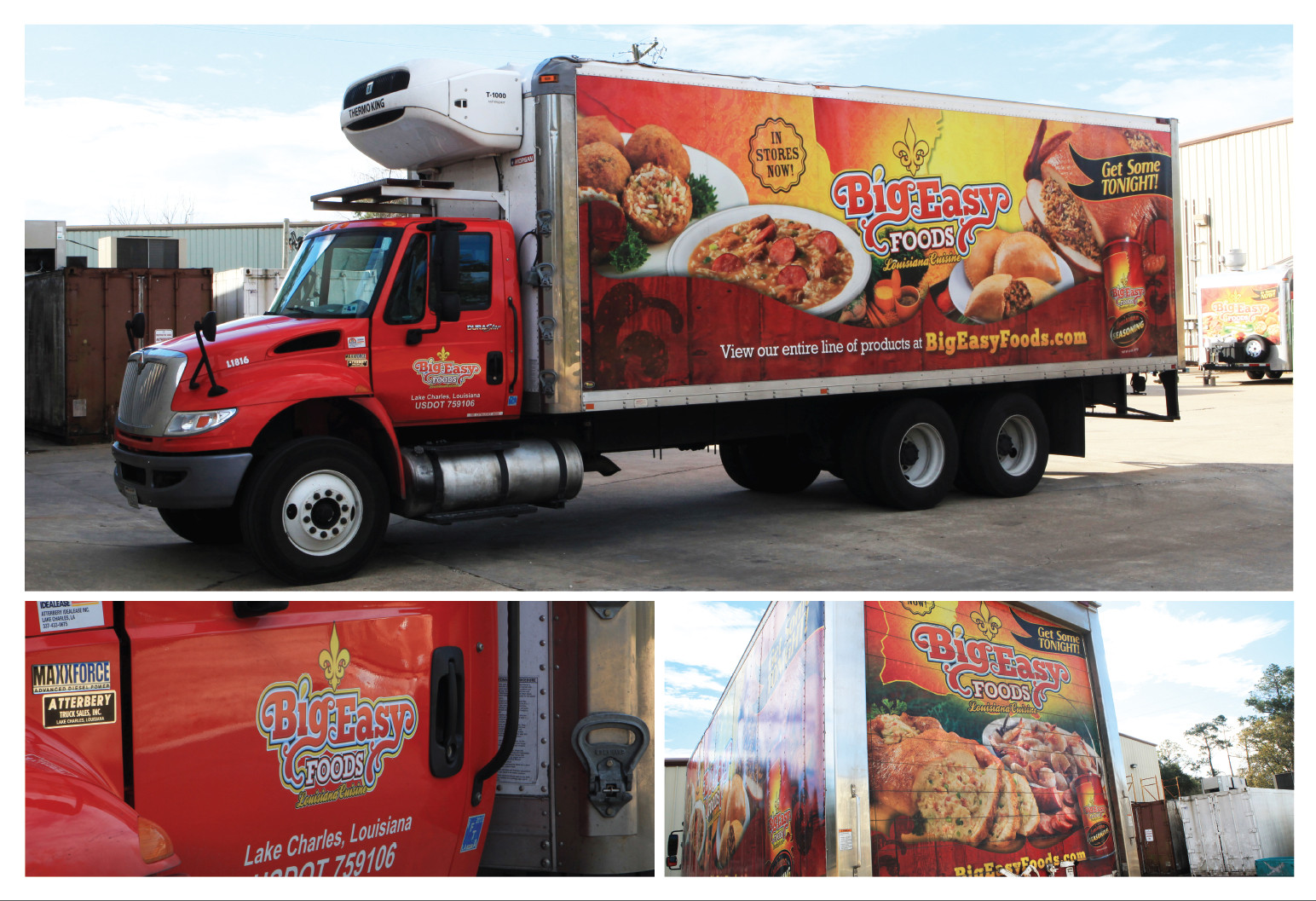 Big Easy Foods Delivery Truck - Bronze ADDY©