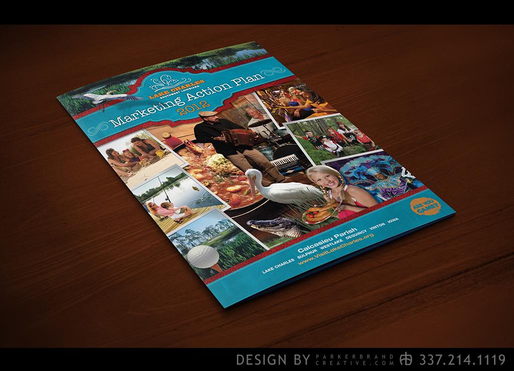SWLA CVB Marketing Plan Covers - Graphic Design - Parker