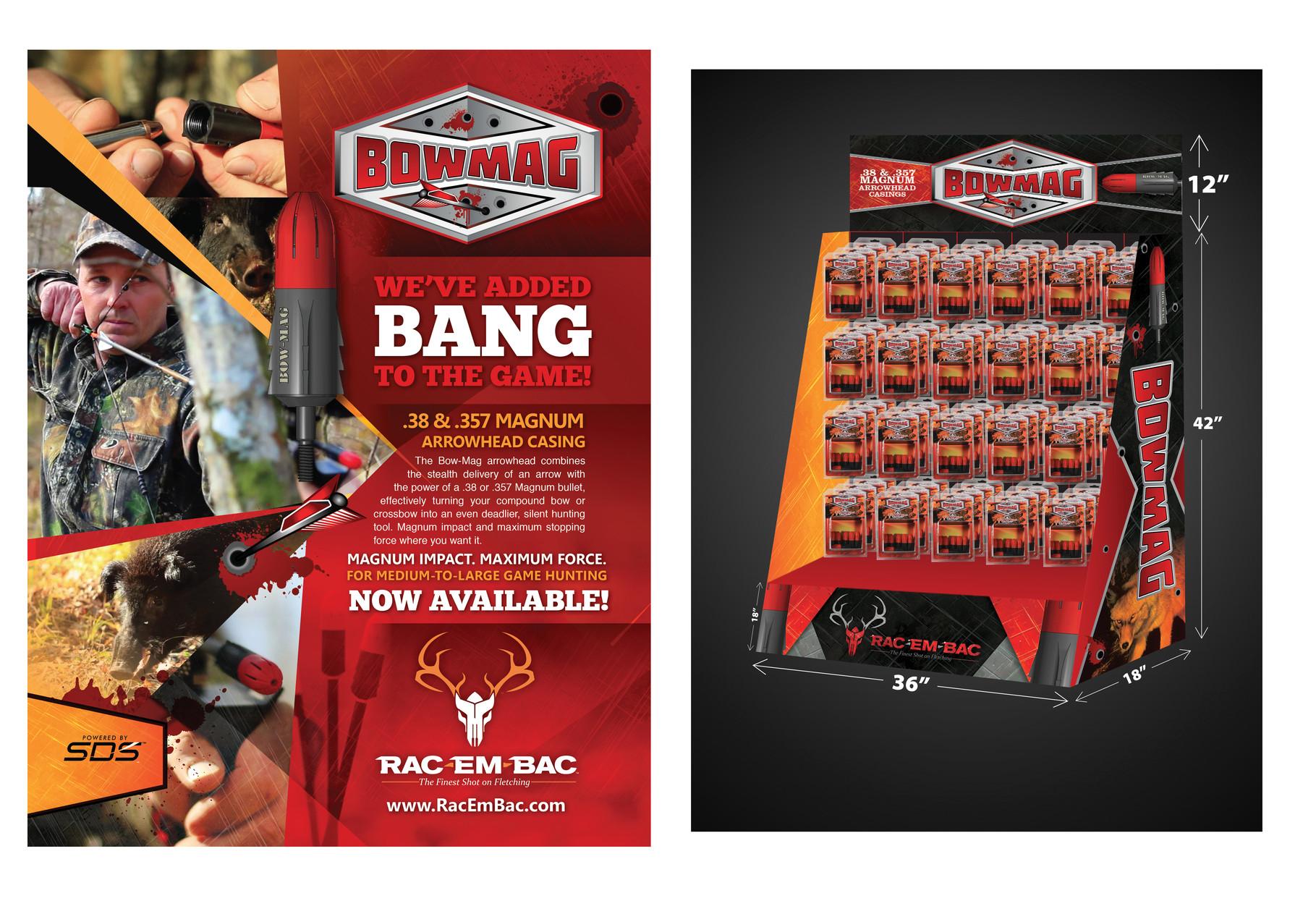 Rac-Em-Bac Bow-Mag Campaign - Silver ADDY©