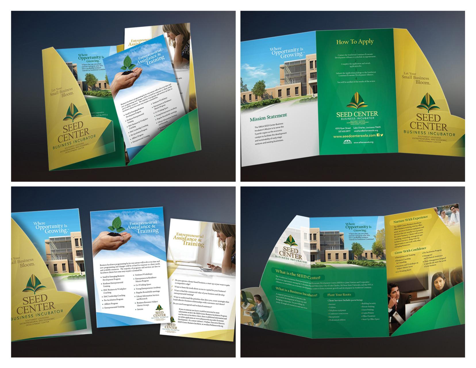 SEED Center Presentation Folder - Silver ADDY©