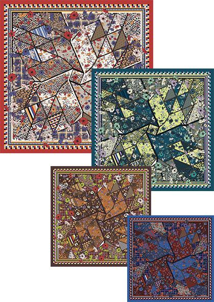 Square 100×100cm/65×65cm IRODORI BLU