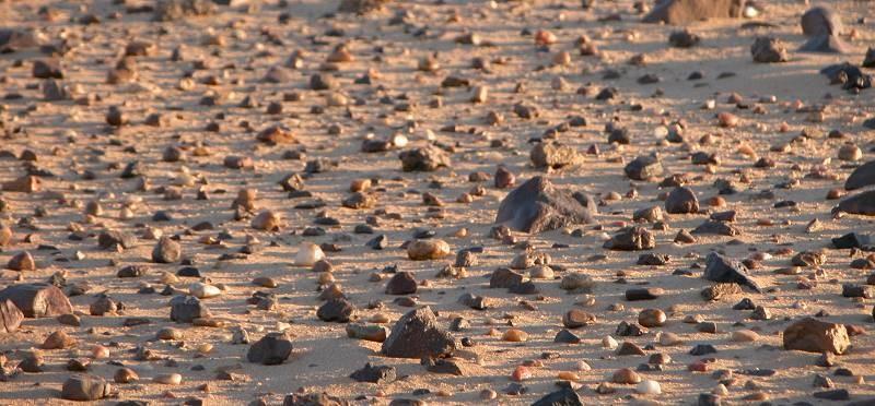 Silica Glass Area nel Gran Mare di sabbia