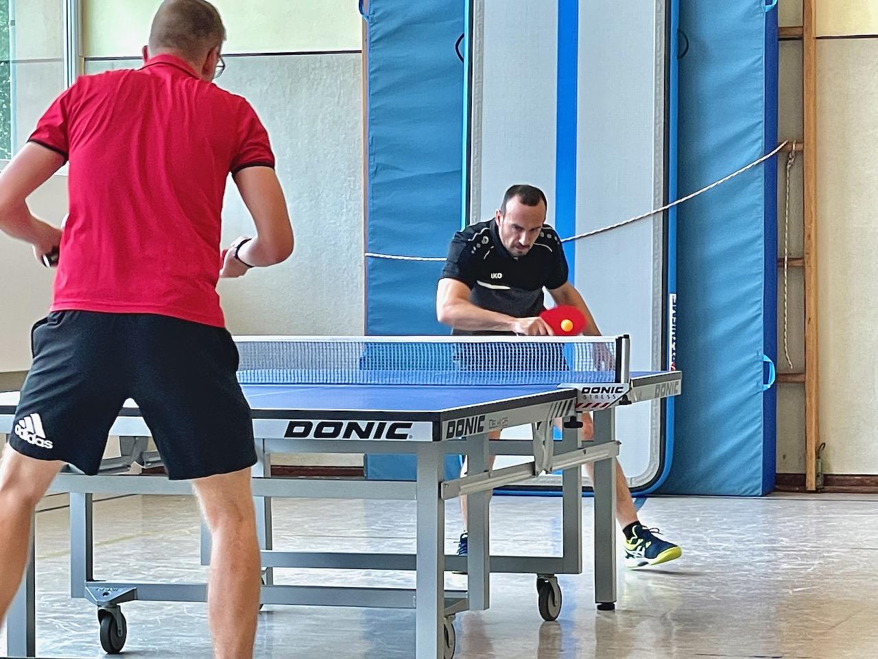 Tischtennis Herren II mit Auftaktsieg