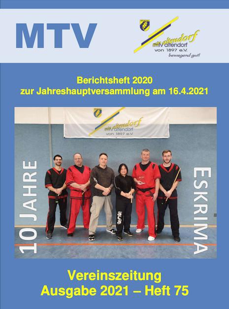Jahresberichtsheft 2020