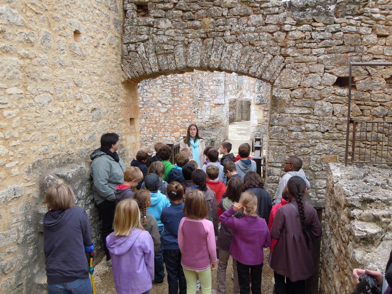 Jour 1 : Bonaguil, à la découverte de la vie quotidienne au Moyen Age