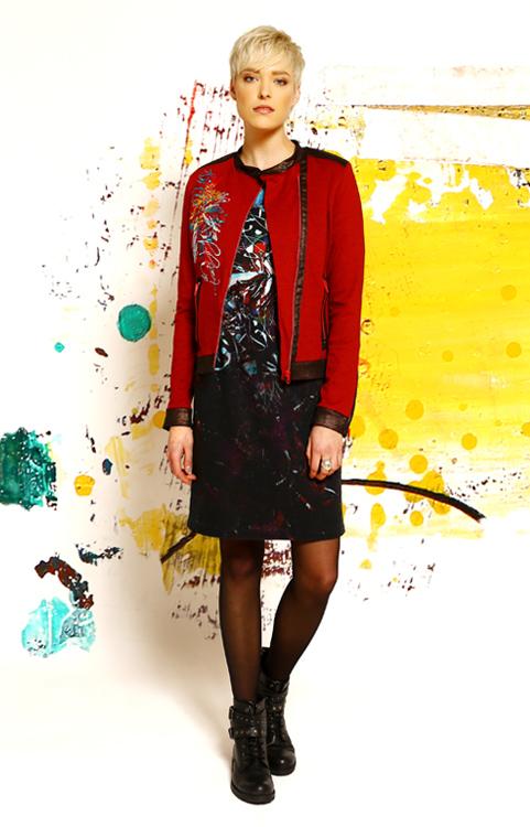 JACKET: H19ADOU19 DRESS: H19ADOU16