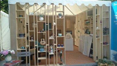 Stand Salon Coté Sud-Aix en Provence 2017- Réalisation collective