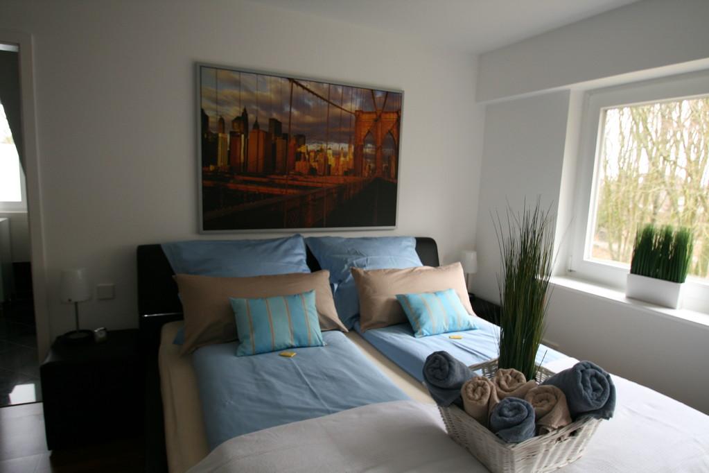 Das Schlafzimmer, ruhig und erholsam - 1,80 x 2,00 m Bett