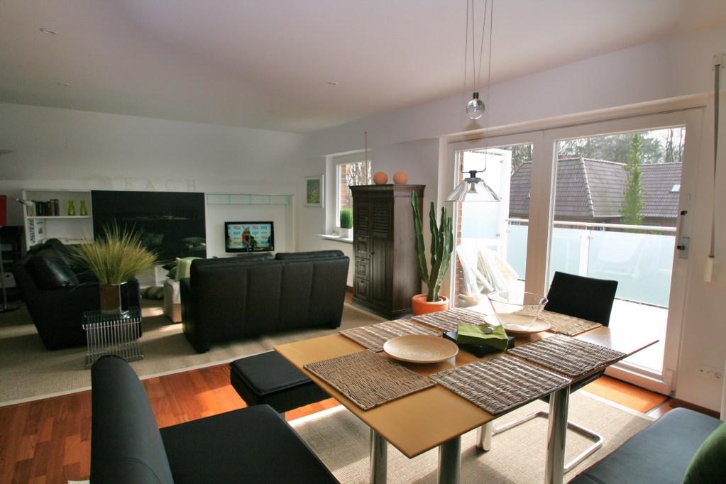 ausreichend Platz - die 90 qm Dachgeschosswohnung