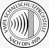 VMPA Schallschutzprüfstelle nach DIN 4109