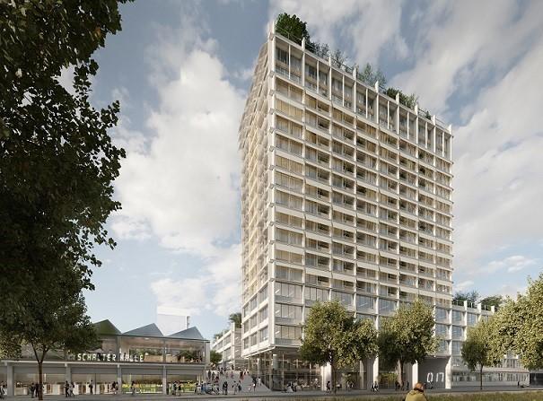 Foto-Preview - Büroimmobilien Projektentwicklung / Gewerbeimmobilien: Hamburg Überseering City Nord - DEUTSCHE IMMOBILIEN