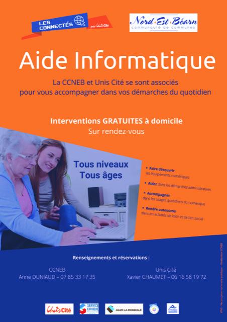 2 services civiques en faveur de l'inclusion numérique
