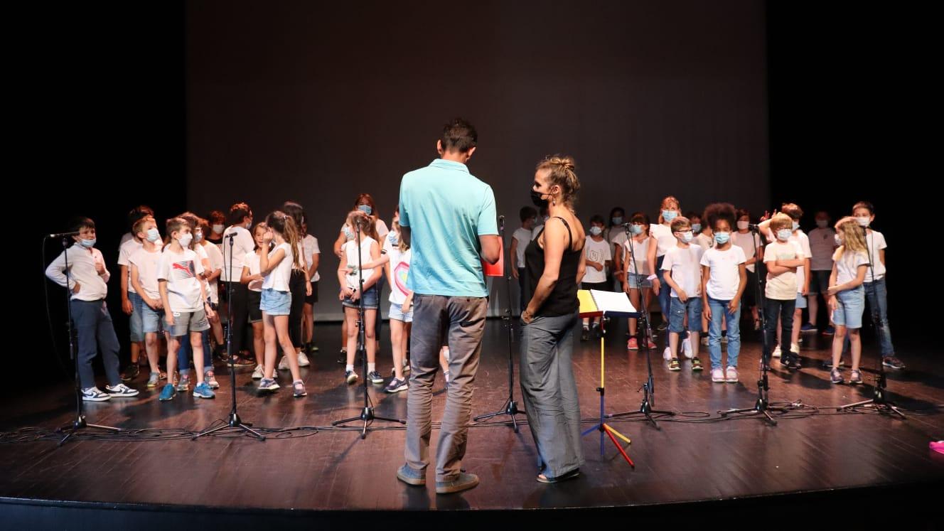 Projet Chorale de l'école