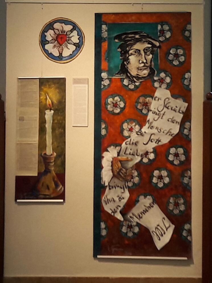 Ausstellung im Rathaus Marburg