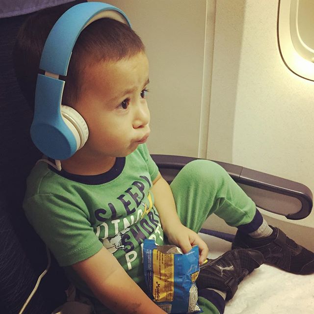 airplane travel with a 2 year old
