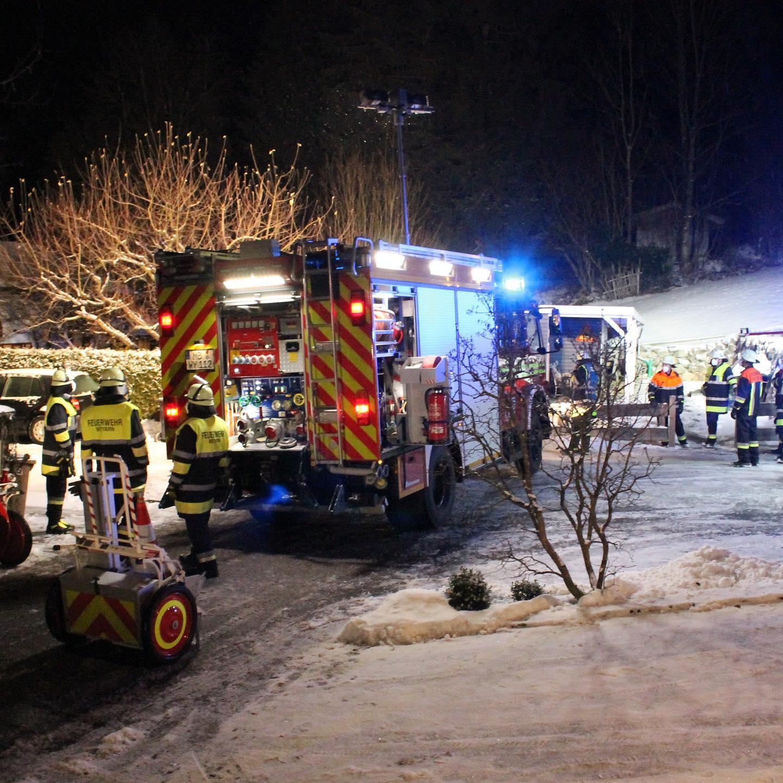 Kaminbrand in Holzolling