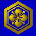 出雲大社 御神紋(二重亀甲剣花菱)