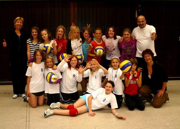 Die Jugendgruppen aus Helpsen und Rodenberg