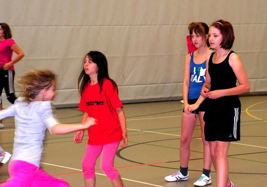 Laufspiele fördern Schnelligkeit und Koordination