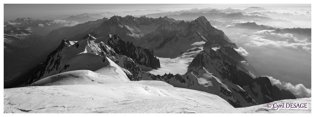 7h55: sommet du Mt Blanc