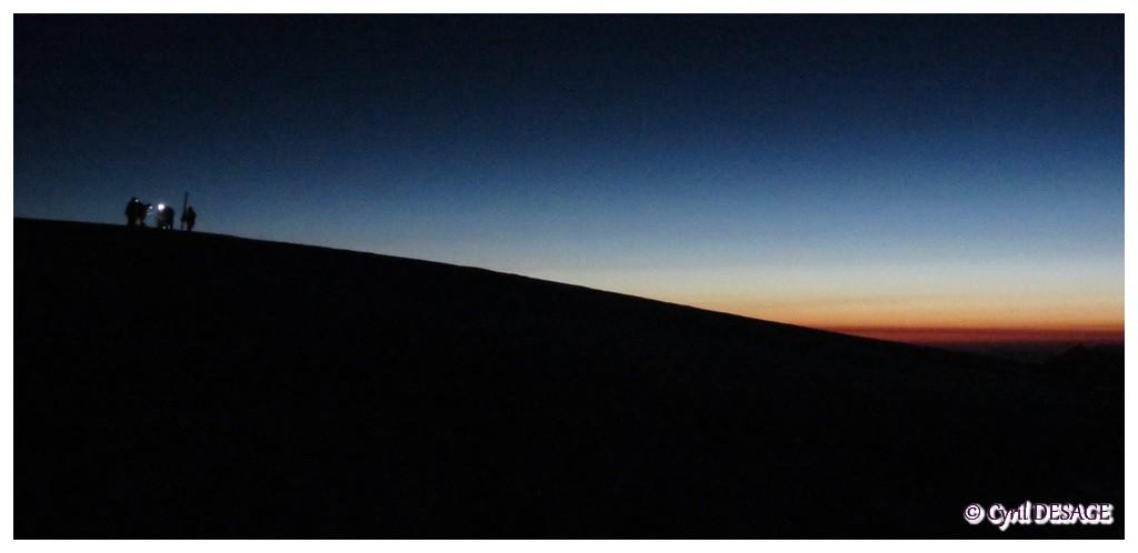 4h30: col du Dôme