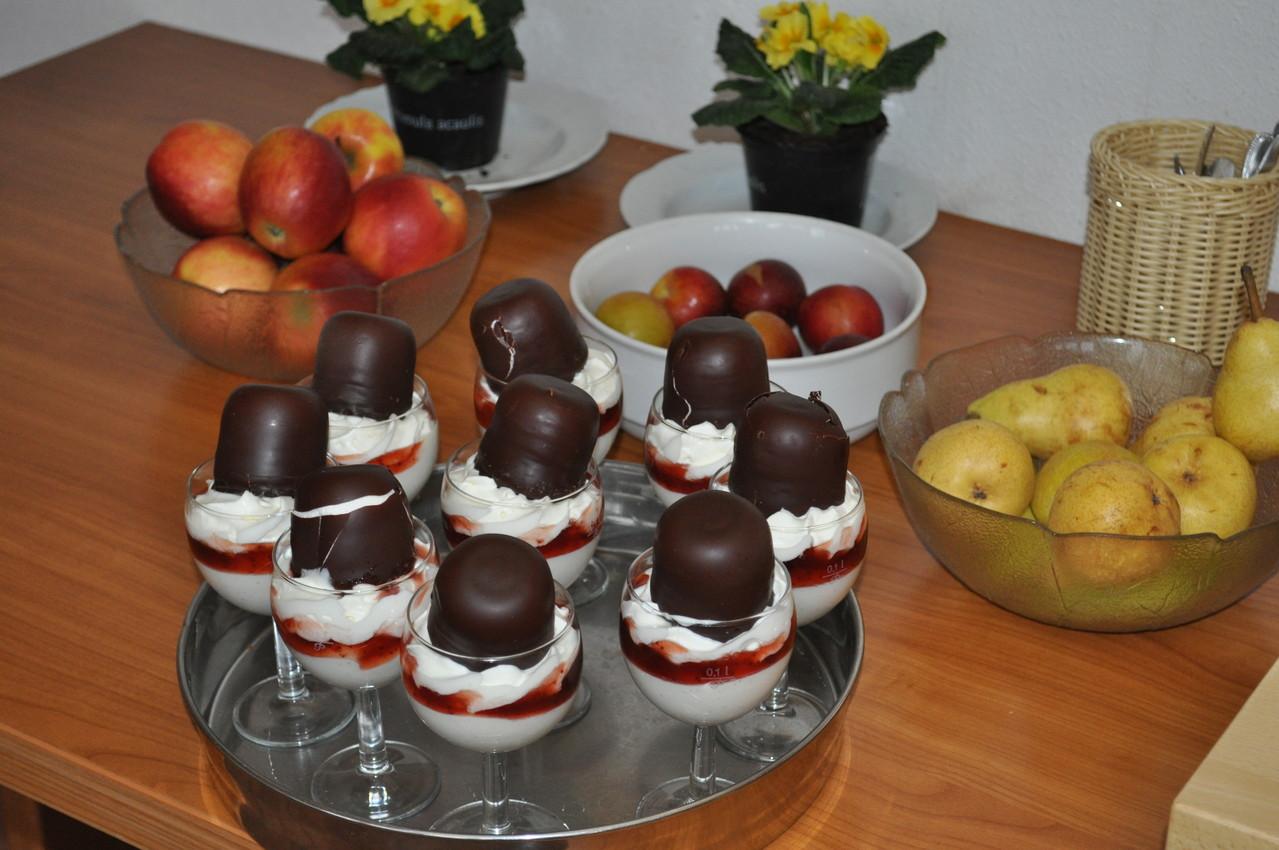 ... und Dessert!