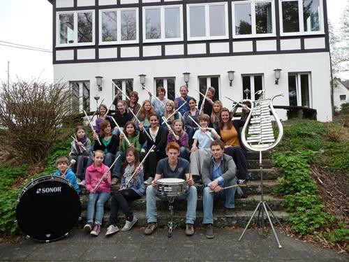 Das Orchester wächst....2011