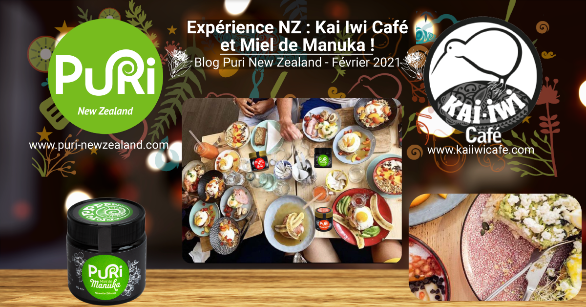 Expérience NZ : Kai Iwi Café et Miel de Manuka !