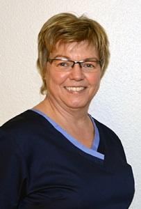 Frau Ursula Drüing: Zahnarzthelferin Tätigkeitsfeld: Prophylaxe und Stuhlassistenz