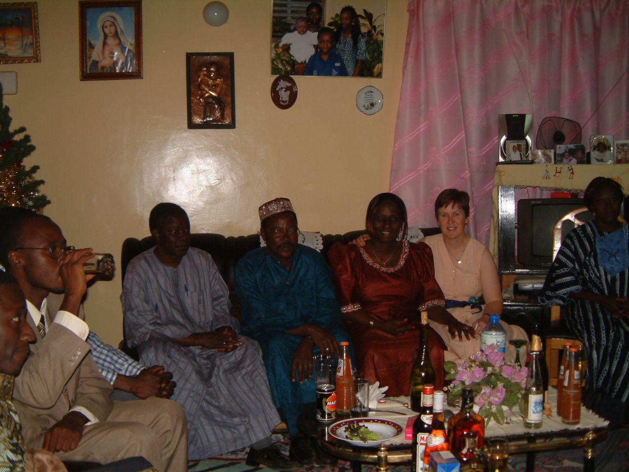 Noël chez Ramata et Dominique