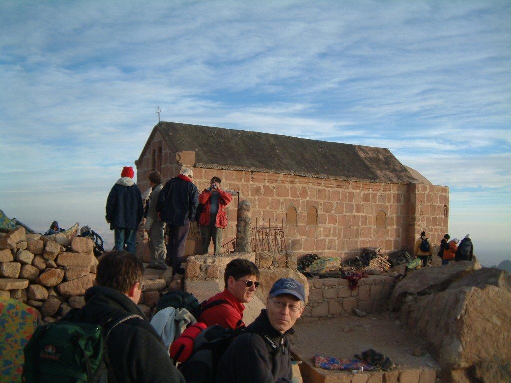 Au somet du Mont Sinaï