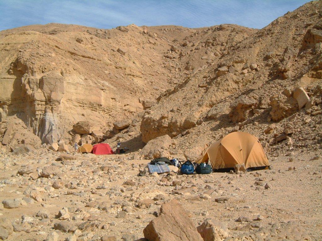 Bivouac sous tente de 2 personnes
