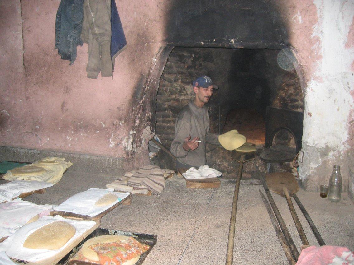 Le boulanger de la Médina
