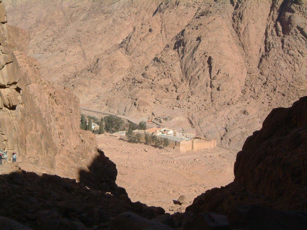 Le monastère Sainte Catherine