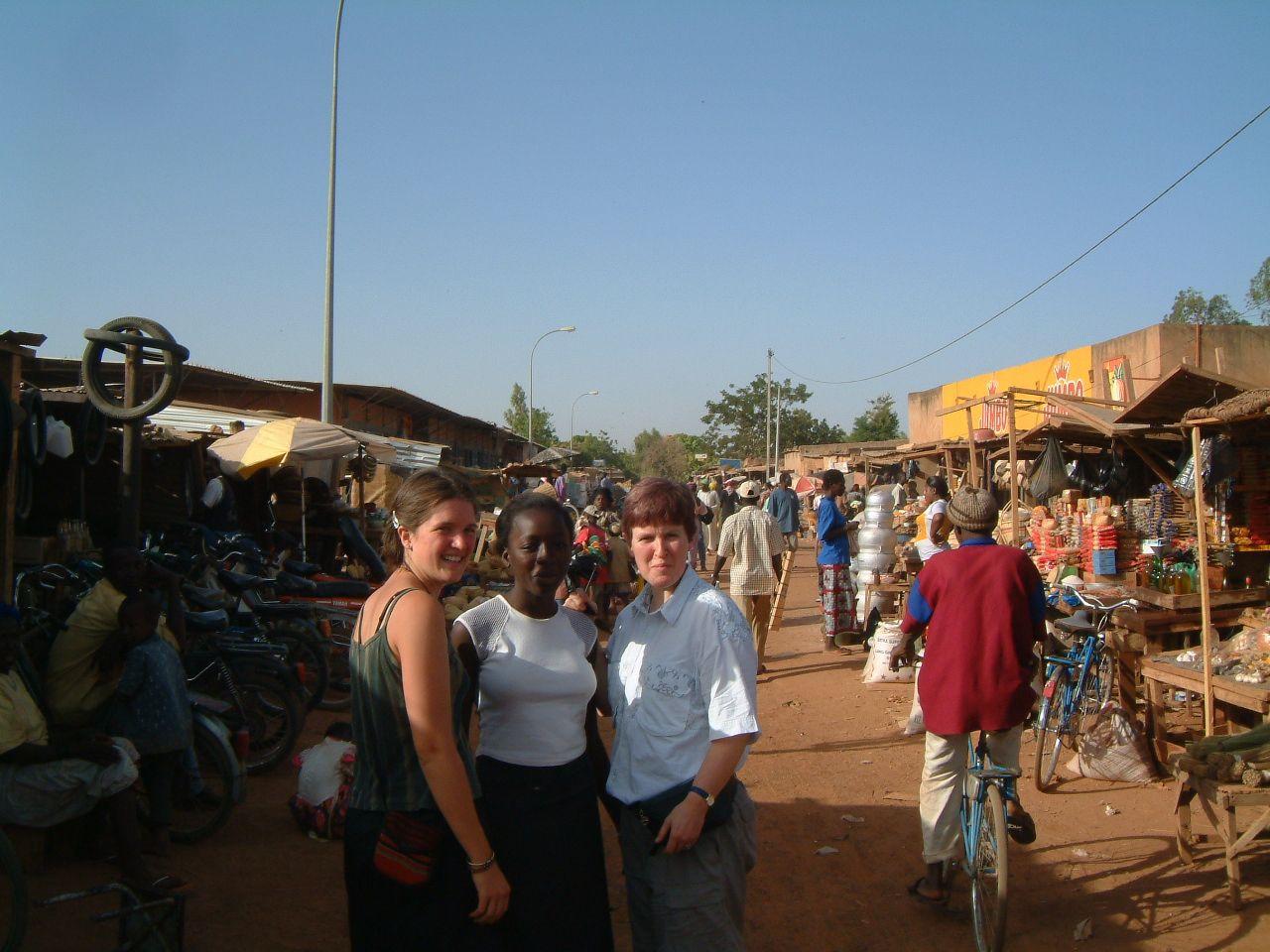 Au marché de Ougadougou