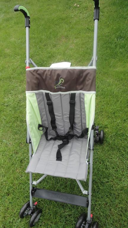 Gîte bébé : prêt gratuit d'une poussette