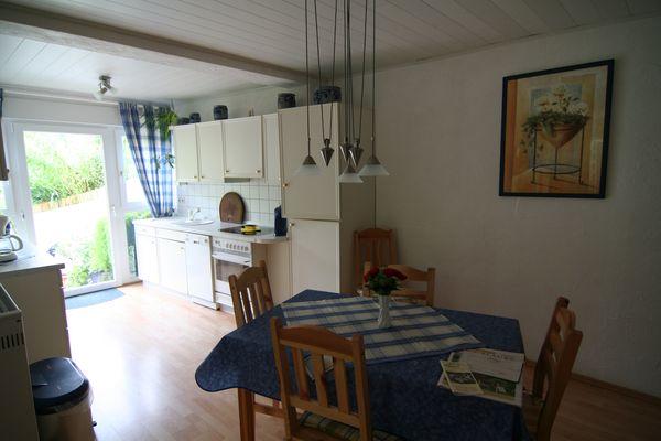 Ferienwohnung im Pfälzerwald, Sonja Anton Rinnthal, Pfalz, Südliche Weinstraße, Wohnküche