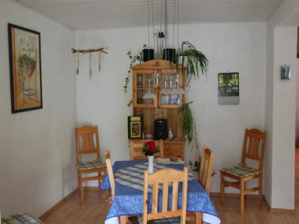 Ferienwohnung im Pfälzerwald, Sonja Anton Rinnthal, Pfalz, Südliche Weinstraße, Wohn- Esszimmer