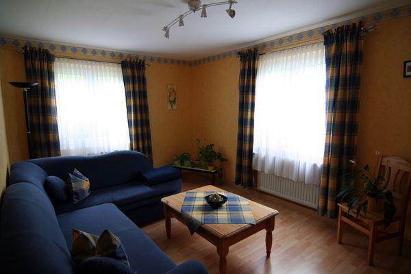 Ferienwohnung im Pfälzerwald, Sonja Anton Rinnthal, Pfalz, Südliche Weinstraße, Wohnzimmer