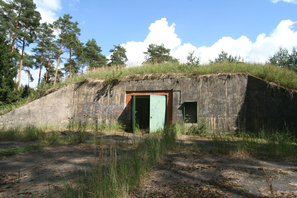 Alte Bunkeranalge vor dem Umbau im Jahre 2010