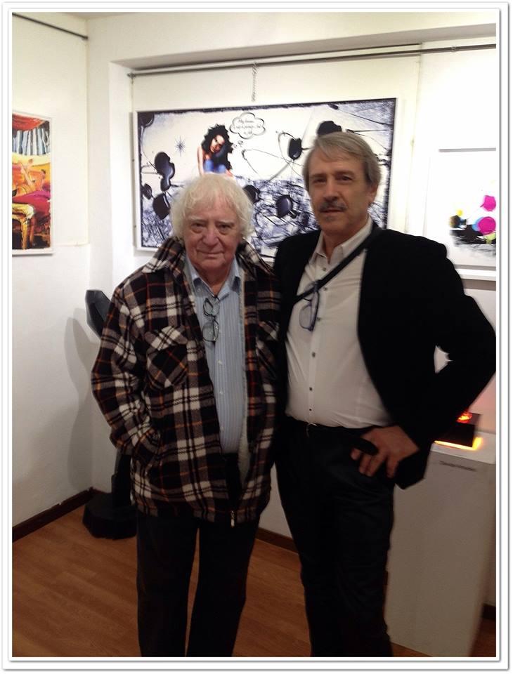 Con il Maestro Bruno Tosi