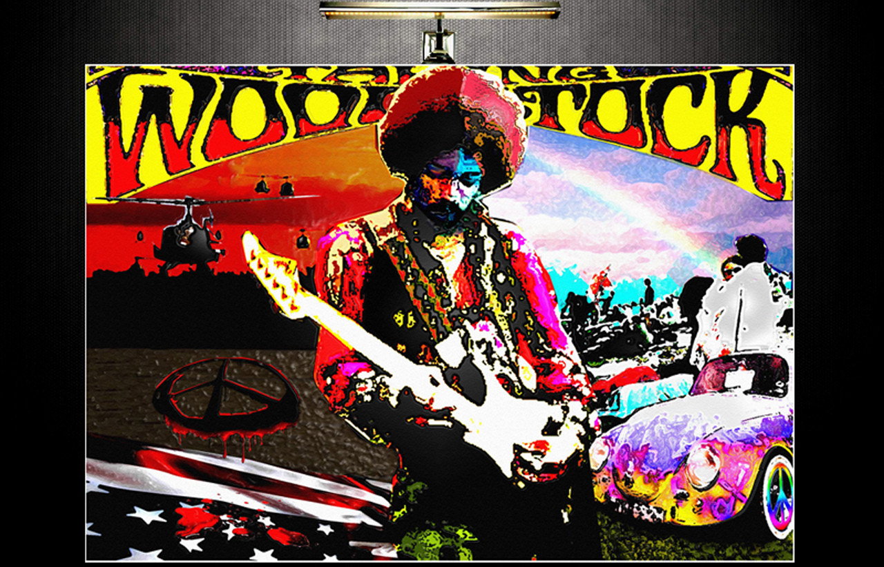 W00DSTOCK - WAR AND PEACE