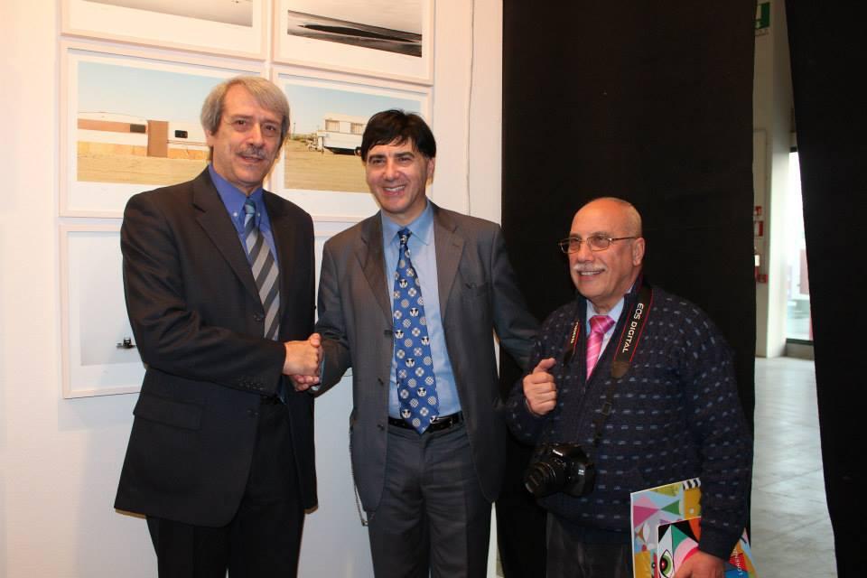 Con il critico d'Arte Giorgio Grasso e l'artista Loi Di Campi Invidia