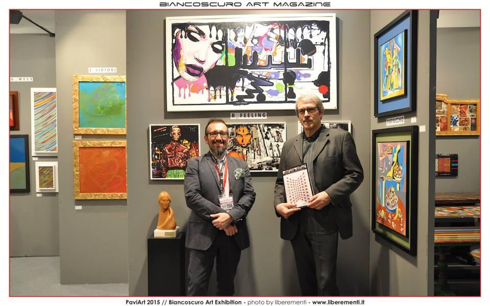 Con l'Art Promoter e Gallerista Vincenzo Chetta