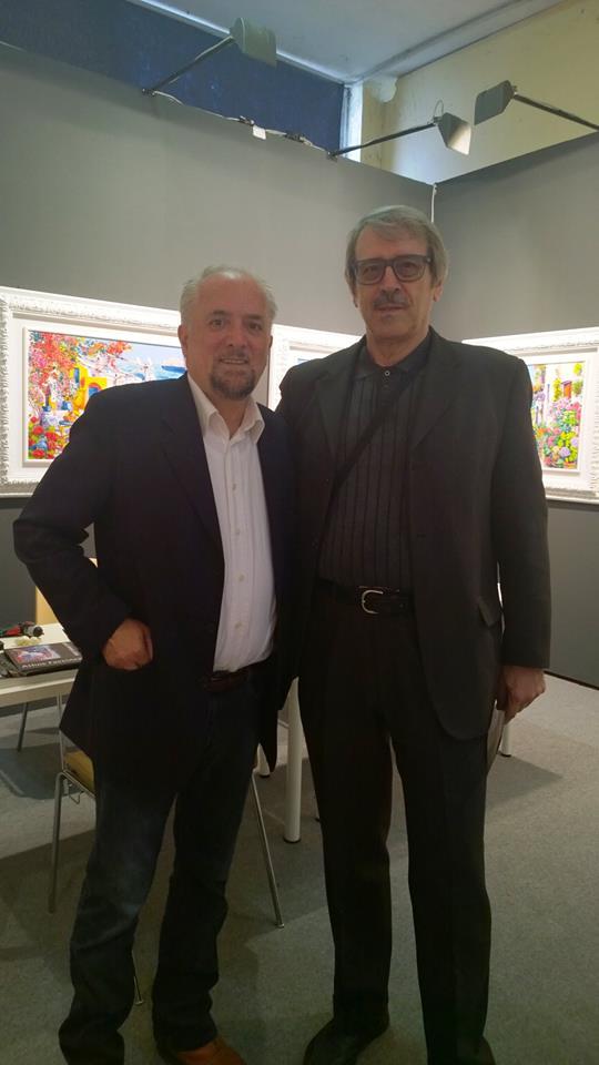 Con il Maestro Athos Faccincani