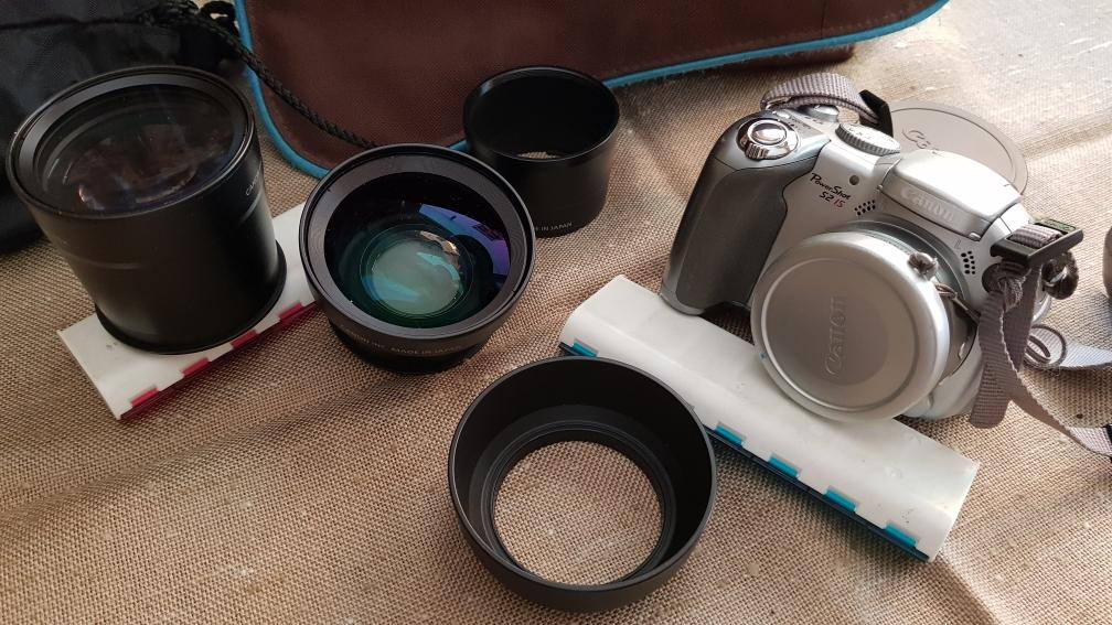 Meine langjährige Begleiterin die Canon PowerShot  S2 IS