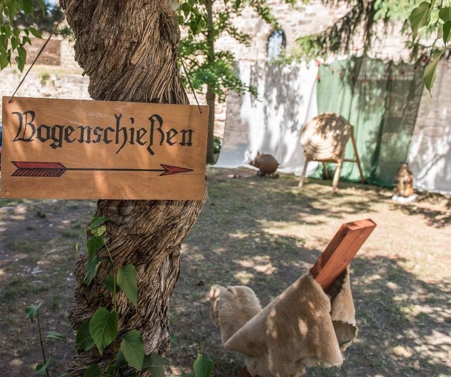 Mittelalter auf der Schönburg
