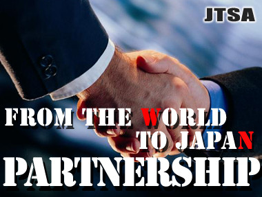 Partnership from the world to Japan